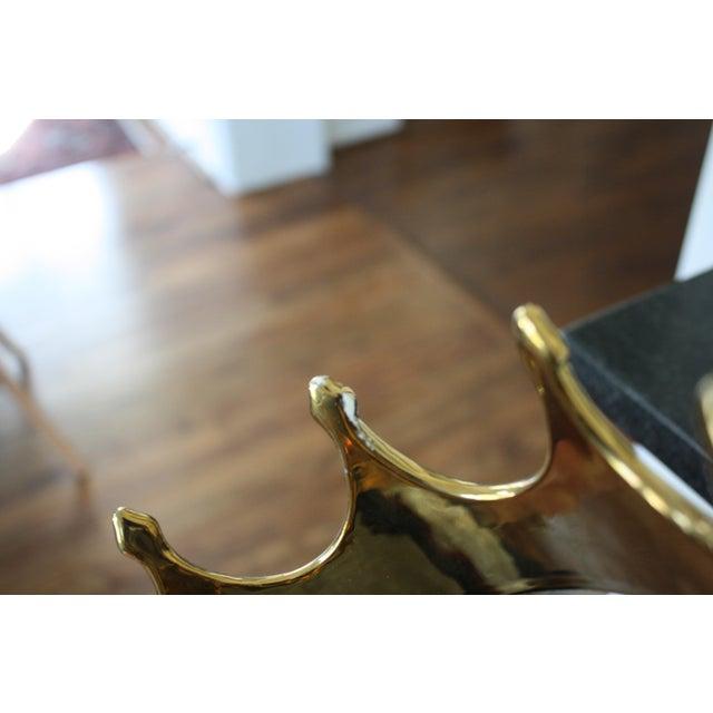 Gold Ceramic Crown - Image 7 of 8