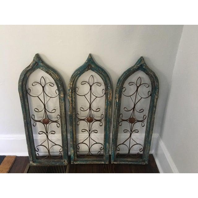 Antique Window Frames - Set of 3 - Image 2 of 6