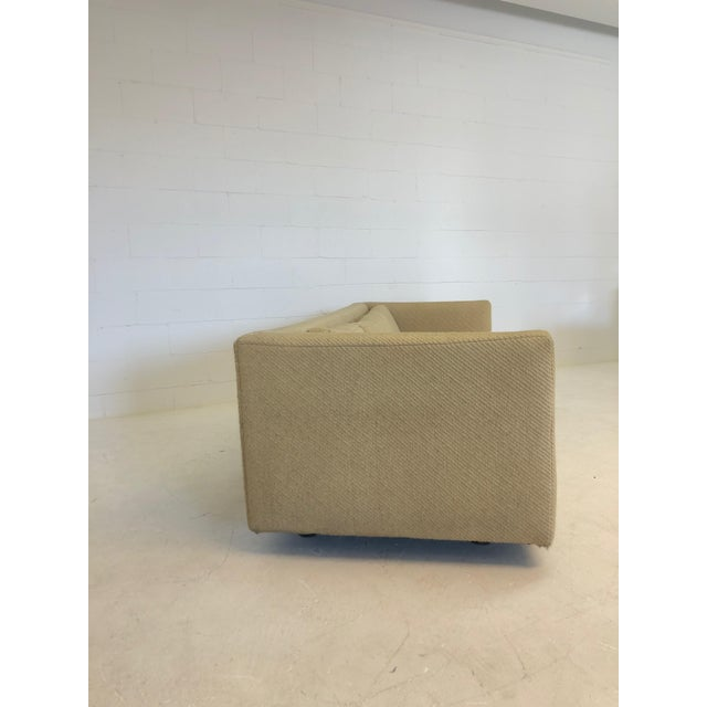 Mid-Century Modern Mid Century Harvey Probber Floating 3 Cushion Sofa For Sale - Image 3 of 7