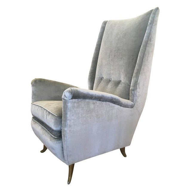 1950s ISA Armchair Attributed to Gio Ponti For Sale - Image 5 of 5