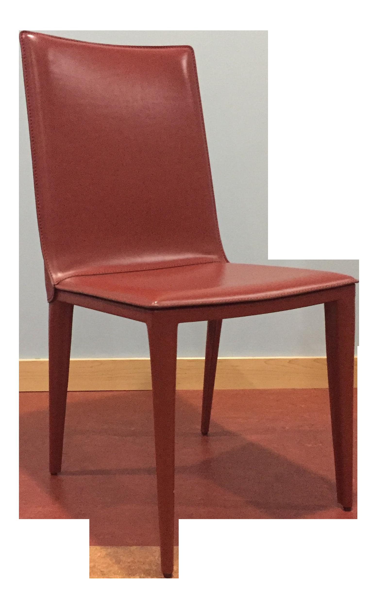 Marvelous DWR Red Bottega Side Chair