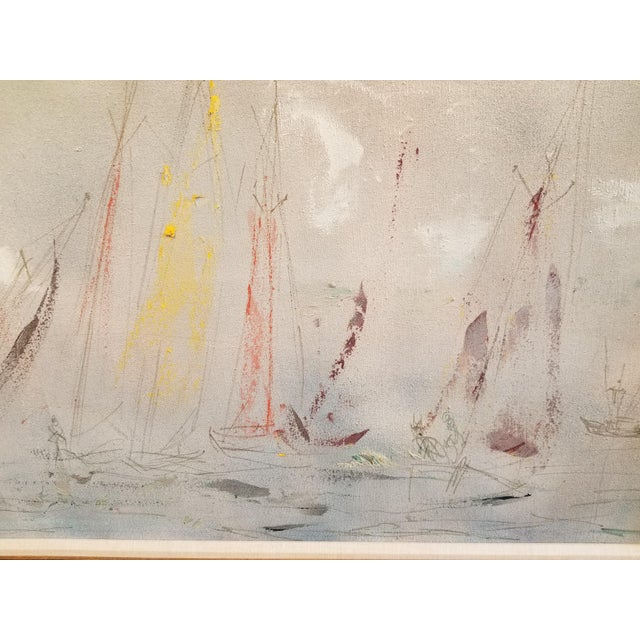 Abstract Pascal Cucaro Large-Scale Abstract Expressionist Oil Painting For Sale - Image 3 of 9