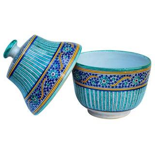 Ornate Moroccan Moorish Lidded Bowl Preview