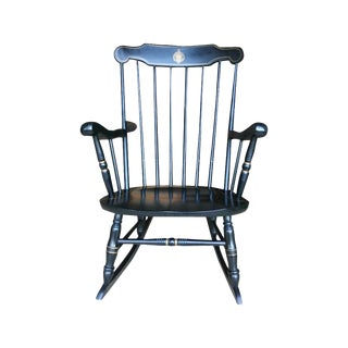 U.S. Naval Academy Captains Wood Rocking Chair