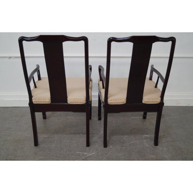 Quality Solid Chinese Rosewood Dining Chairs - 8 - Image 6 of 10