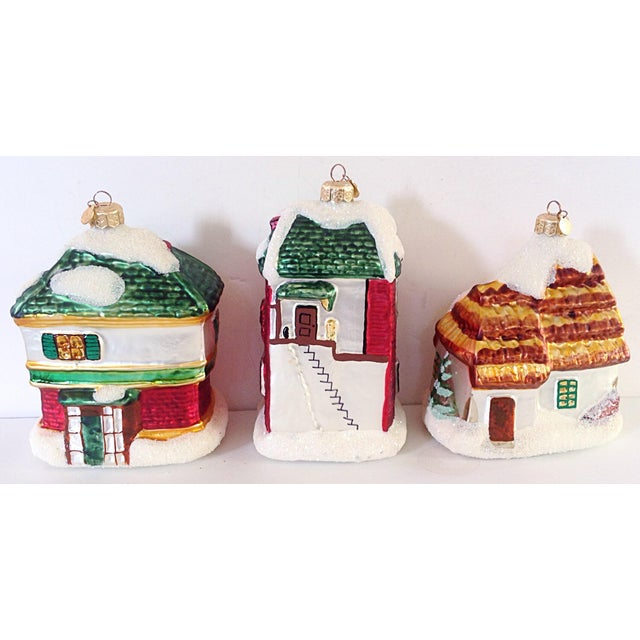 Scrooge Story Cottage Ornaments - Set of 3 - Image 3 of 3