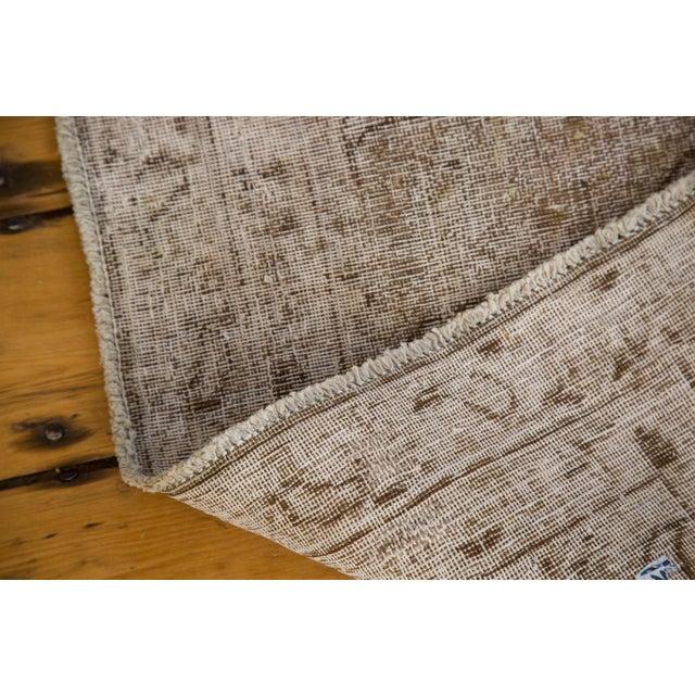 """Distressed Vintage Khorassan Carpet - 7'10"""" x 11'3"""" - Image 5 of 7"""