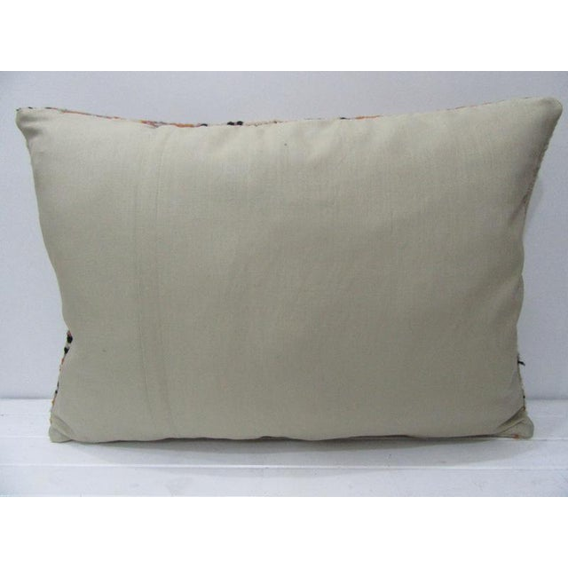 Contemporary Vintage Turkish Decorative Large Pillow - 28ʺW × 20ʺH For Sale - Image 3 of 4