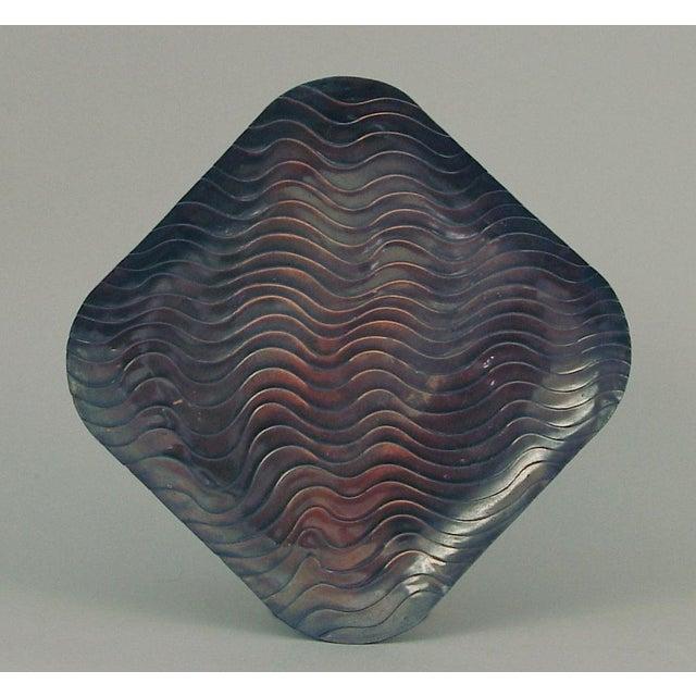 Francisco Rebajes 1950s Rebajes Large Copper Wall Hanging For Sale - Image 4 of 4