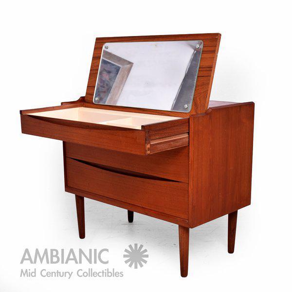 Arne Vodder Secretary Vanity Desk Dresser for Sibast - Image 2 of 10