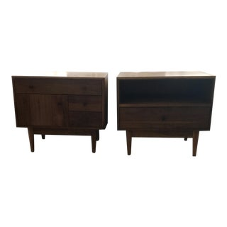 Room & Board Grove Nightstands - A Pair For Sale