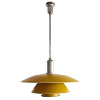 1930s Yellow Poul Henningsen. Ph-4 Pendant Light For Sale