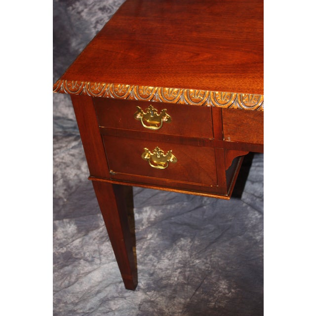 Baker Furniture Company Baker, Historic Charleston Collection Writing Desk For Sale - Image 4 of 9