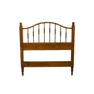20th Century British Colonial Ethan Allen Twin Size Headboard For Sale