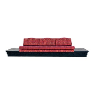 Adrian Pearsall Strictly Spanish Platform Sofa For Sale
