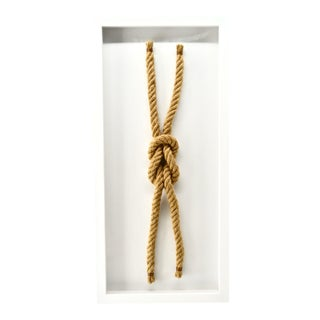 "Sailors Knot Framed ""Reef Knot"" For Sale"