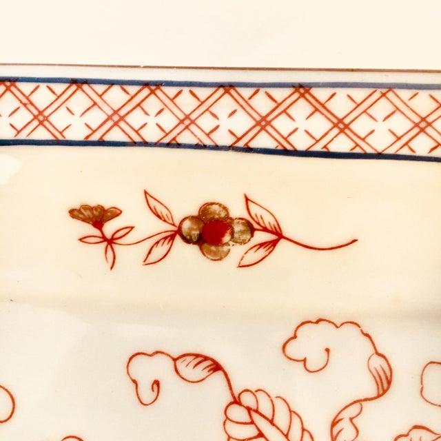 Mid 20th Century Mid 20th Century Imari Low Dish For Sale - Image 5 of 6