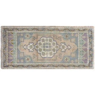 "1960s Turkish Oushak Yastik - 1'9"" X 3'8"" For Sale"
