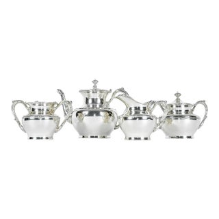 Antique Silver Plate Tea Service