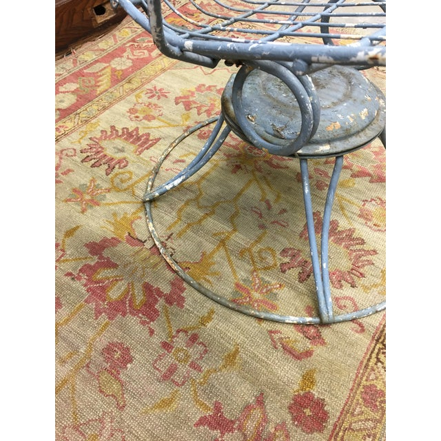 1960s Vintage Homecrest Mid Century Modern Iron Patio Chairs-a Pair For Sale In Washington DC - Image 6 of 8