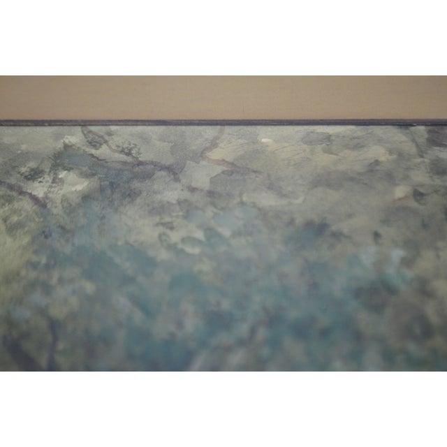 Antique Charles Day Hunt Framed & Signed Landscape Watercolor Painting - Image 5 of 10