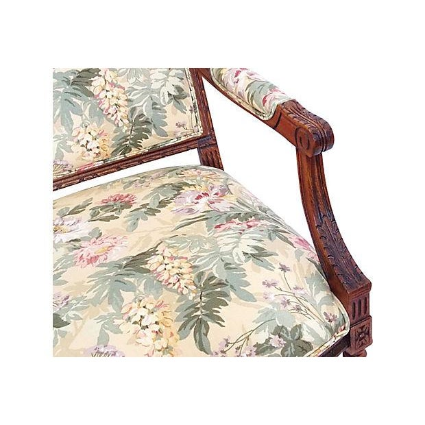 Louis XVI Style Occasional Chair - Image 4 of 7