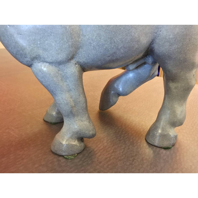 Mid 20th Century Lee Andreason Bronze Bucephalus Sculpture For Sale - Image 5 of 9