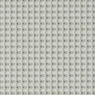 Sample - Schumacher X David Oliver Milo Wallpaper in Sobek For Sale