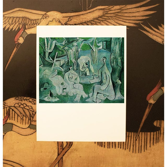 "Cubism 1971 Pablo Picasso, ""Luncheon on the Grass"" Period Parisian Photogravure For Sale - Image 3 of 7"