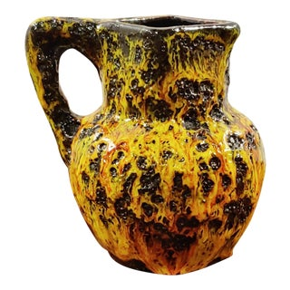 1960s Kreutz Keramik Jug Vase For Sale