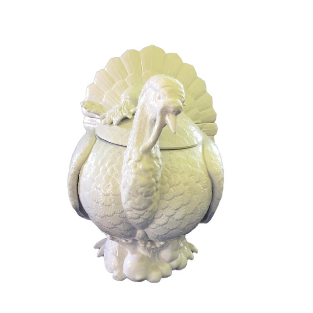 Fitz & Floyd Turkey Ceramic Soup Tureen For Sale - Image 9 of 12
