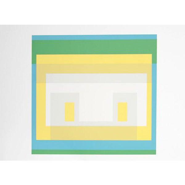 "Josef Albers ""Portfolio 1, Folder 28, Image 1"" Print - Image 1 of 3"