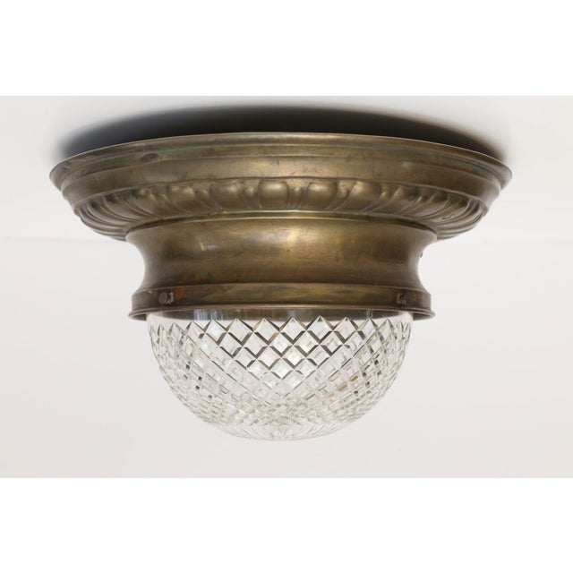 Repousse Flush Mount Light For Sale - Image 11 of 11