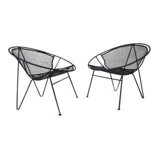 "Salterini ""Radar"" Chairs- A Pair For Sale"