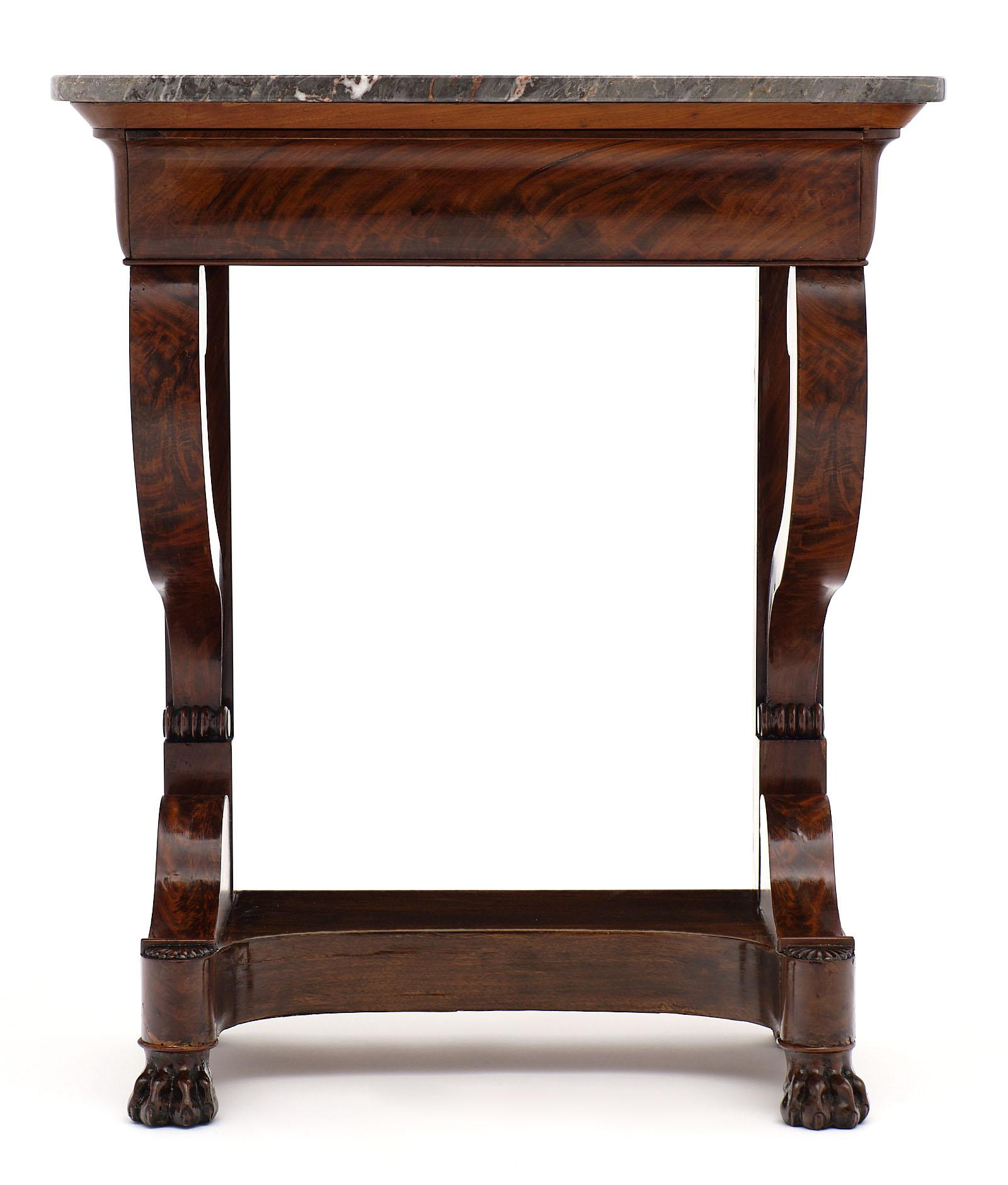 Restauration Period French Antique Console Table