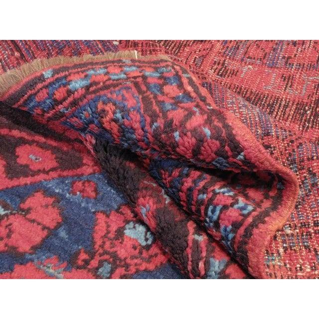 Blue Antique Kula Long Rug For Sale - Image 8 of 8