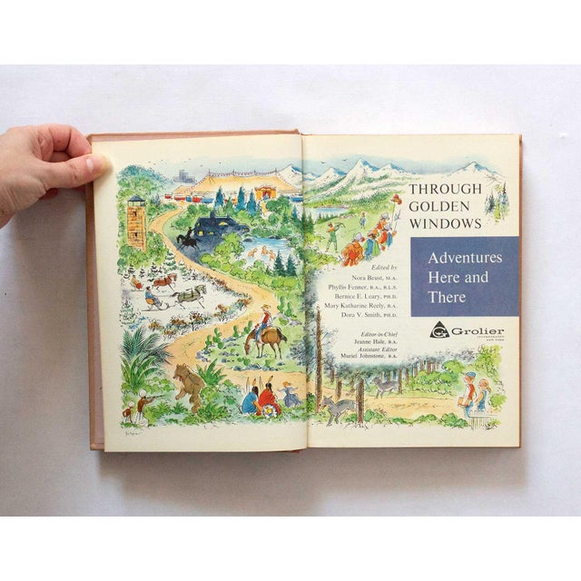 1958 Vintage Children's Fiction Book For Sale - Image 4 of 8