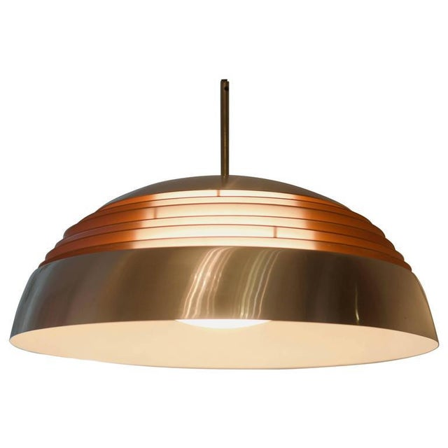Aluminum hanging lamp, 1970s For Sale - Image 10 of 10