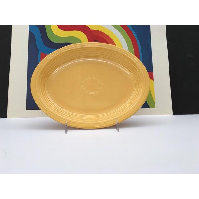 Vintage Mid-Century Fiesta Fiestaware Platters - Set of 3 For Sale In Palm Springs - Image 6 of 10