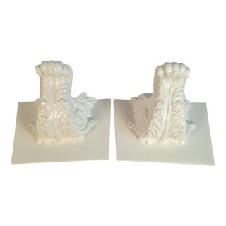 Italian Wall Shelves - a Pair For Sale