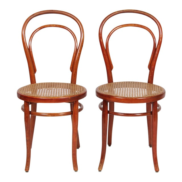 1910 Thonet Model 14 Bentwood Chairs - A Pair - Image 1 of 10