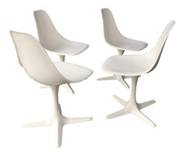 Image of Swivel Dining Chairs
