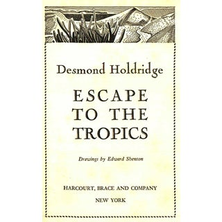 "1937 ""Escape to the Tropics"" Collectible Book For Sale"