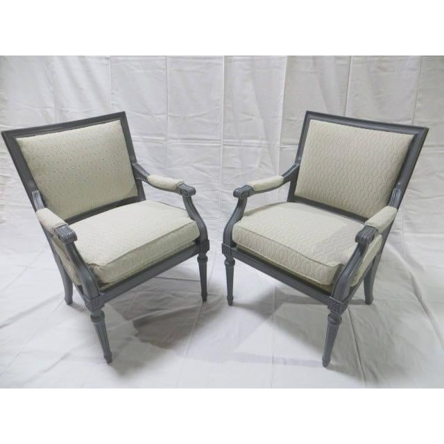 French Directoire Side Chairs - A Pair For Sale In New York - Image 6 of 11
