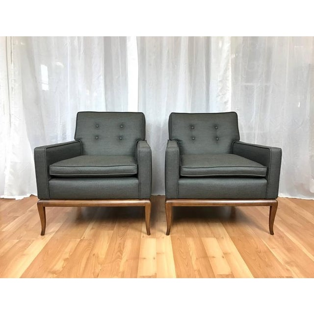 Robsjohn-Gibbings for Widdicomb Lounge Chairs - A Pair - Image 2 of 9