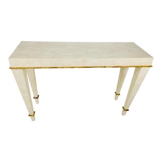 1990s Contemporary Tessellated Marble Console For Sale