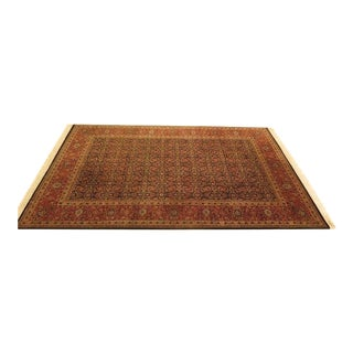 Vintage Traditional Wool Area Rug - 6′1″ × 9′6″ For Sale