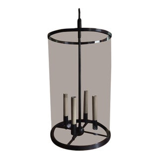 Modern Ralph Lauren Large Black Lantern For Sale