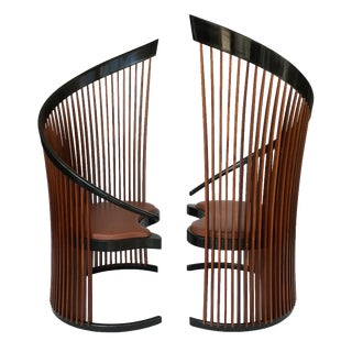 Pair of Paso Doble Sculptural Chairs by Thomas Stender For Sale