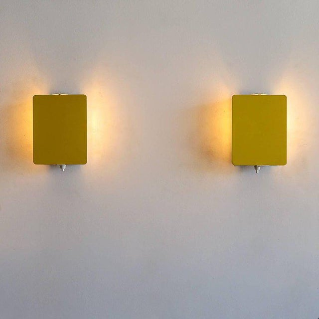 Black Charlotte Perriand Cp-1 Wall Lights Yellow For Sale - Image 8 of 10